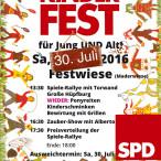 Kinderfest der SPD Ottobrunn am 30. Juli